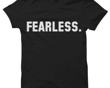 College Fearless Tee Front