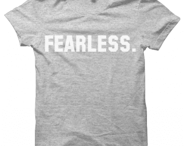 College Fearless Tee HG Front