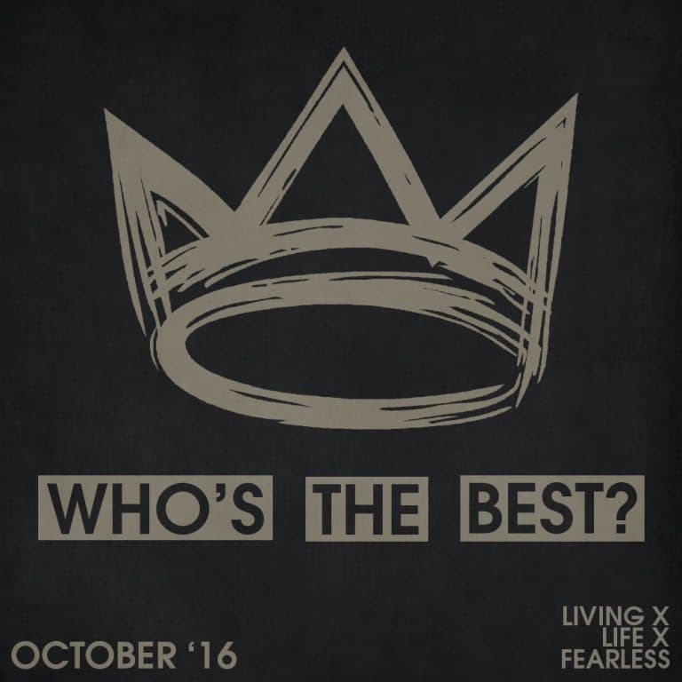 Who's the best of the month: October 2016