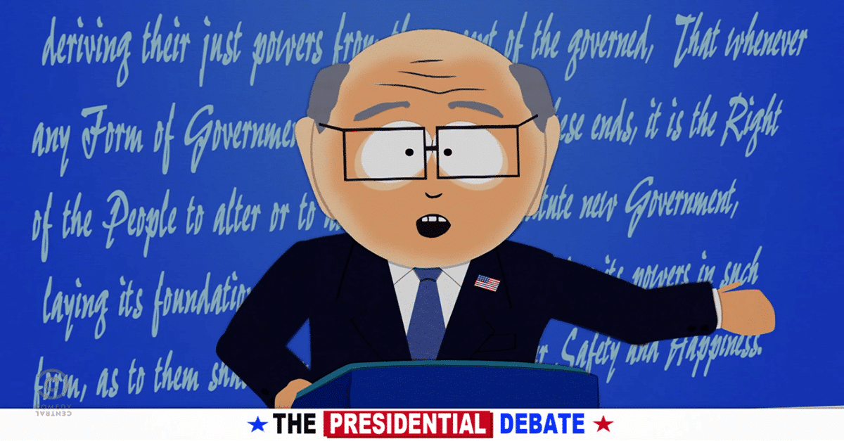 South Park - Garrison for President