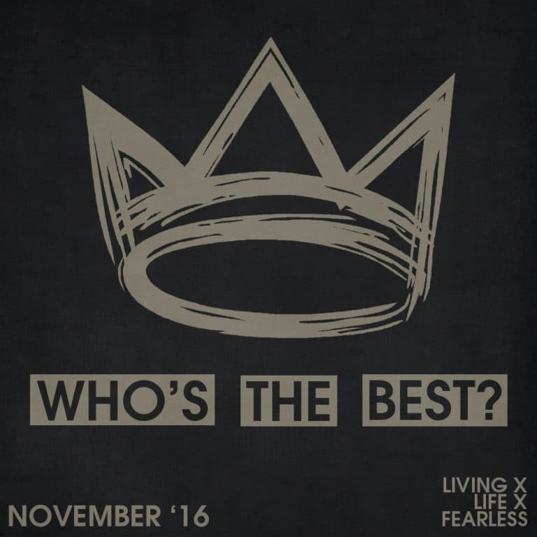 Who's the best of the month: November 2016