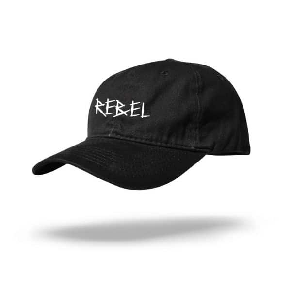 Rebel Dad Hat Front Angle Mockup