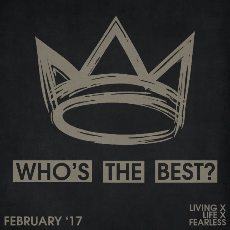 Who's the best of the month: February 2017