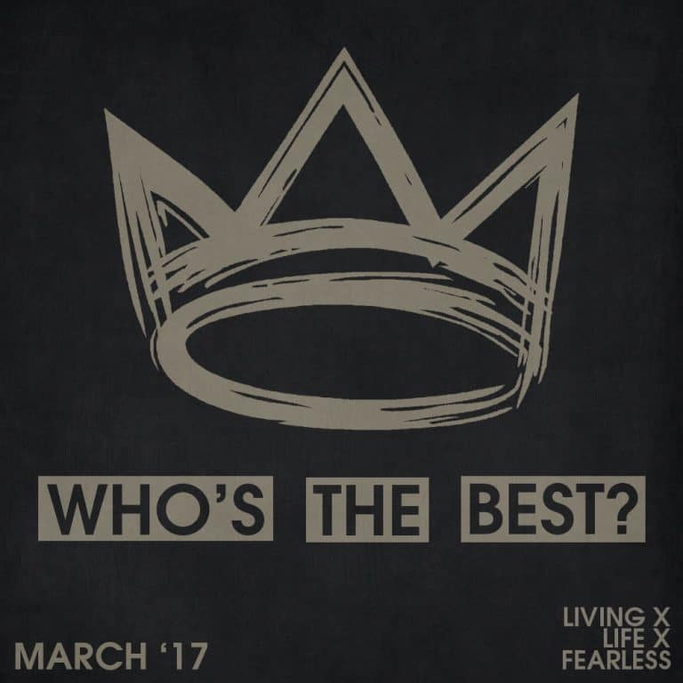 Who's the best of the month: March 2017