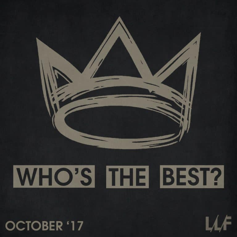 Who's the best of the month: October 2017