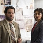 The Punisher Season 1 - Dinah Madani (Amber Rose Revah) & Sam Stein (Michael Nathanson)
