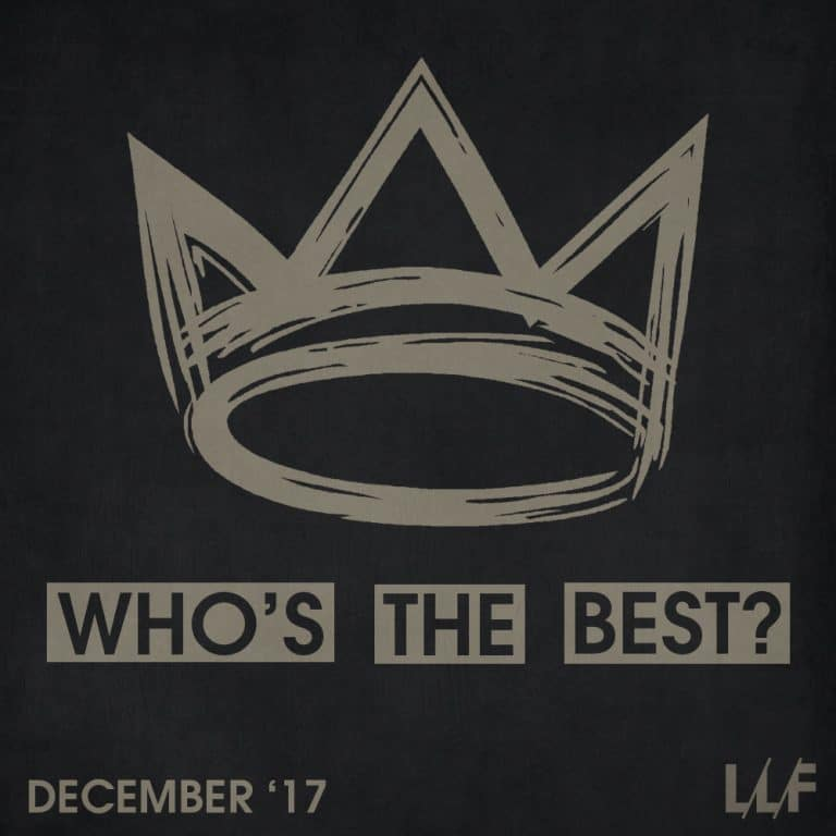 Who's the best of the month: December 2017