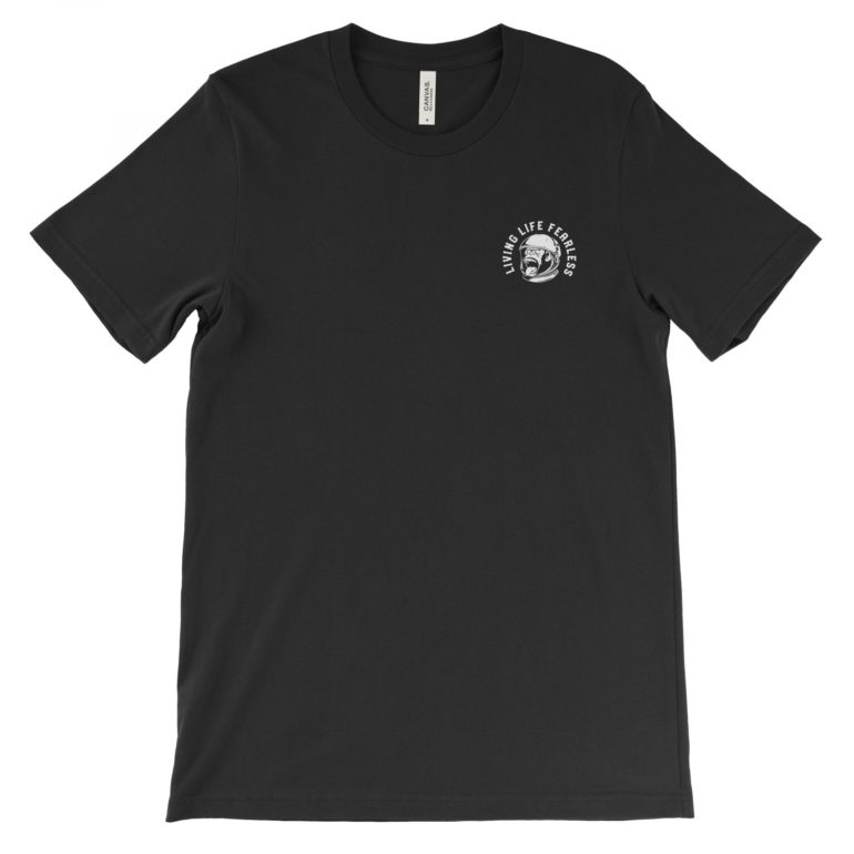 Team Tee v. 2 in Black   Shop   LIVING LIFE FEARLESS