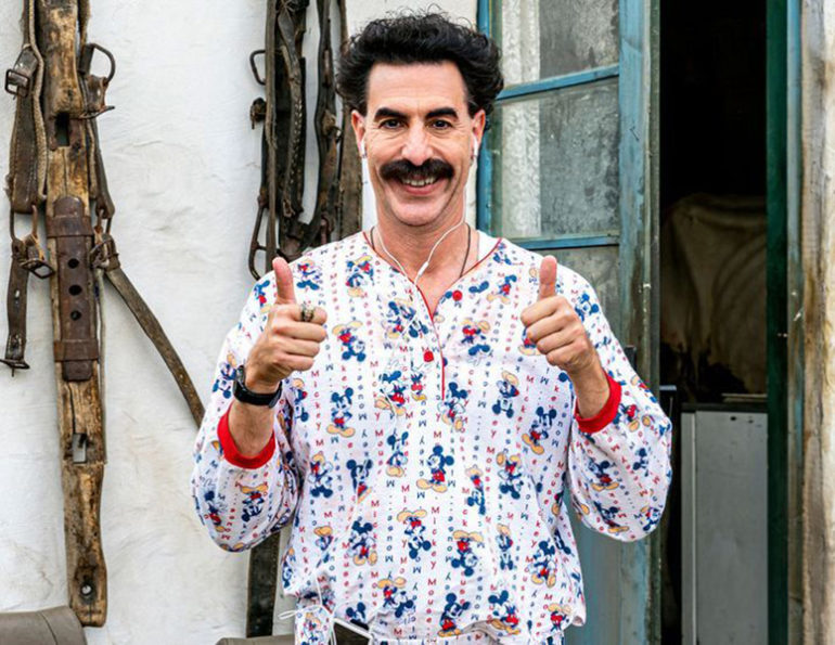 Kazakhs and Kazakh-Americans give mixed reactions to 'Borat 2'   News   LIVING LIFE FEARLESS